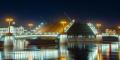 Где лучше всего смотреть развод мостов ?