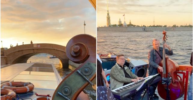 """Jazz Jam на корабле """"ПУРГА"""""""
