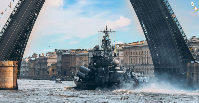 Russian's Navy Day Parade